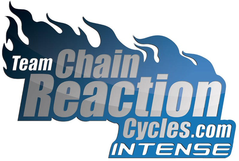 eam Chain Reaction Cyles/Intense sign two new riders