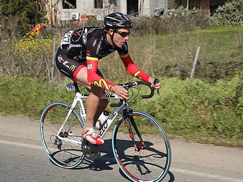 Chad Gerlach on the attack in Sardegna