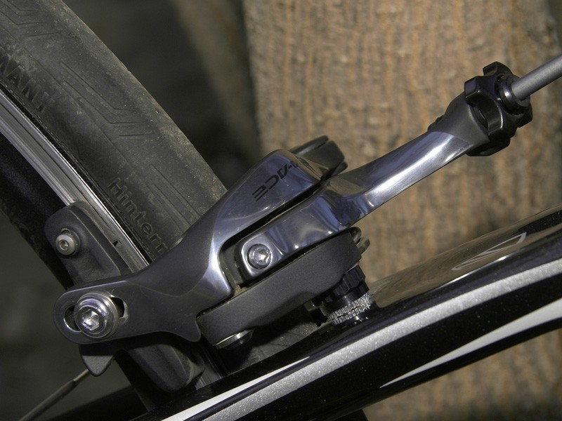 Shimano probably could have made the new calipers lighter but we wouldn't trade their superb stopping power and fingertip modulation to save a few grams