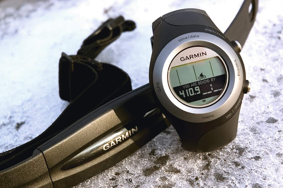 The 405 is pricey for the limited GPS function and  being non waterproof