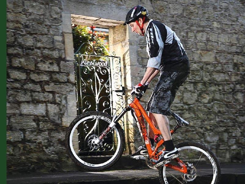 Chris Smith rides Corsair