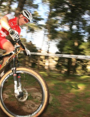 Florian Vogel at the Maremma World Cup.
