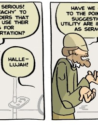 Another Yehuda Moon strip.