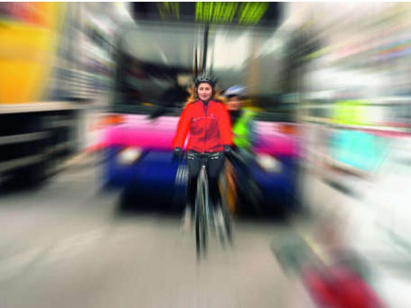 Safety fears are putting women off cycling