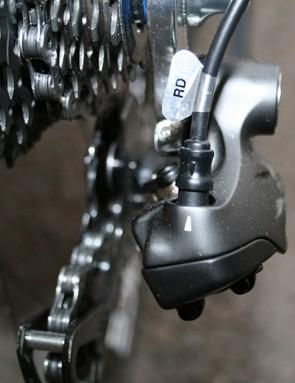 Shimano Dura-Ace Di2 demo bike