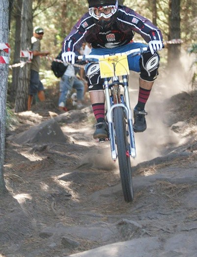 Johann Potgieter lived up to his pre-race No.1 ranking by taking a narrow overall victory