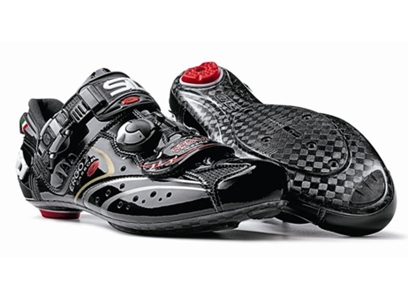 Sidi's new Ergo 2 Carbon Vernice shoes
