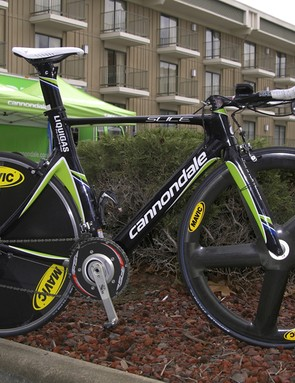 Ivan Basso (Liquigas) will rely on the Cannondale Slice Hi-Mod for time trials this season.