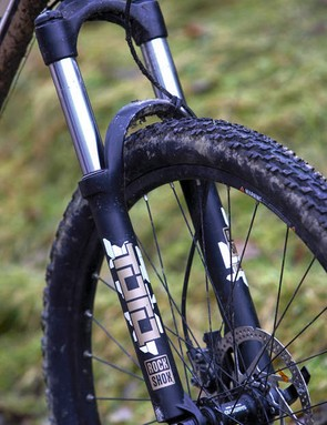 Budget coil forks that don't deliver are a recurring complaint of ours – the Trek's RockShox Tora doesn't buck the trend