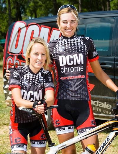 The two women on the DCM Chrome team are Shannon van der Walt (left) and Yolandi du Toit
