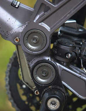 All that linkage and pivot wizardry is designed to prevent the suspension from affecting the pedals, and vice versa
