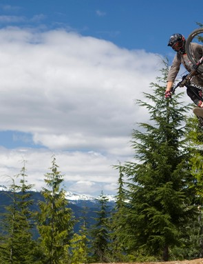 Sterling Lorence catches Thomas Vanderham in action in Whistler