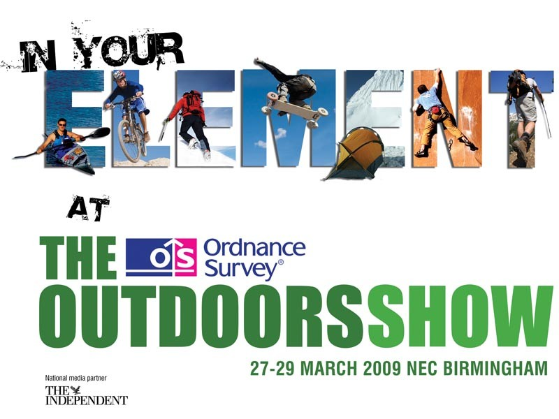 Hone your skills at Ordnance Survey Outdoors Show