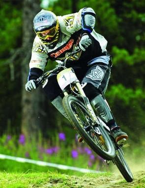 Steve Peat rode Orange bikes between 2002 and 2005