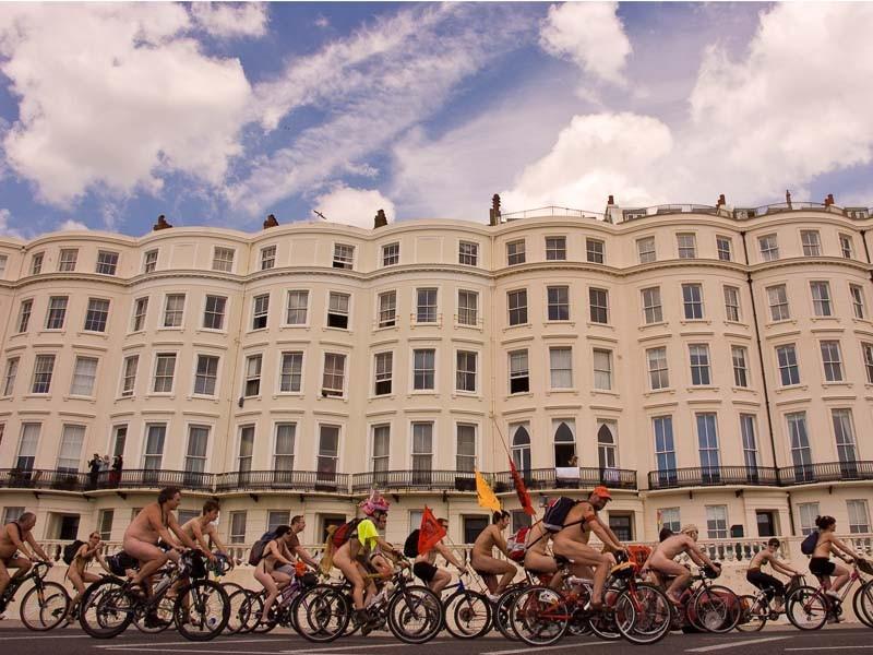 Brighton Naked Bike Ride 2009, Saturday 7 June, 2008