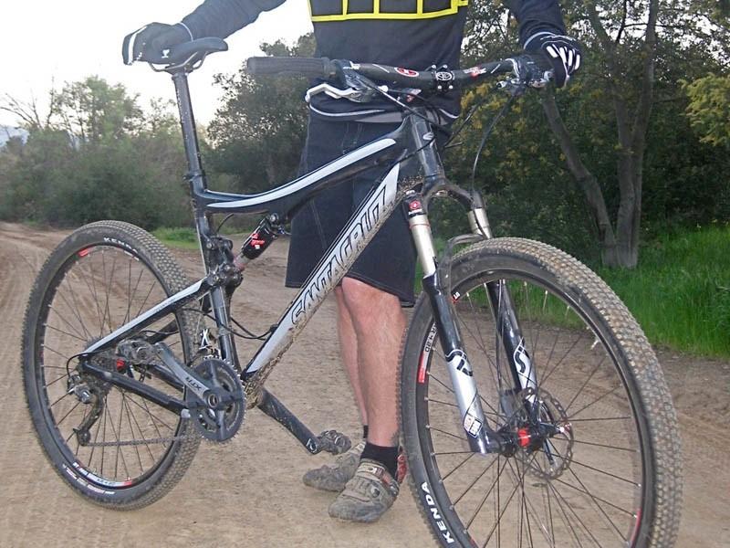 Santa Cruz's new Carbon Blur XC