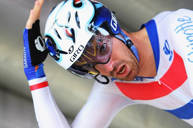 David Millar is out of action for at least a month after breaking his collarbone in a crash in Paris-Nice