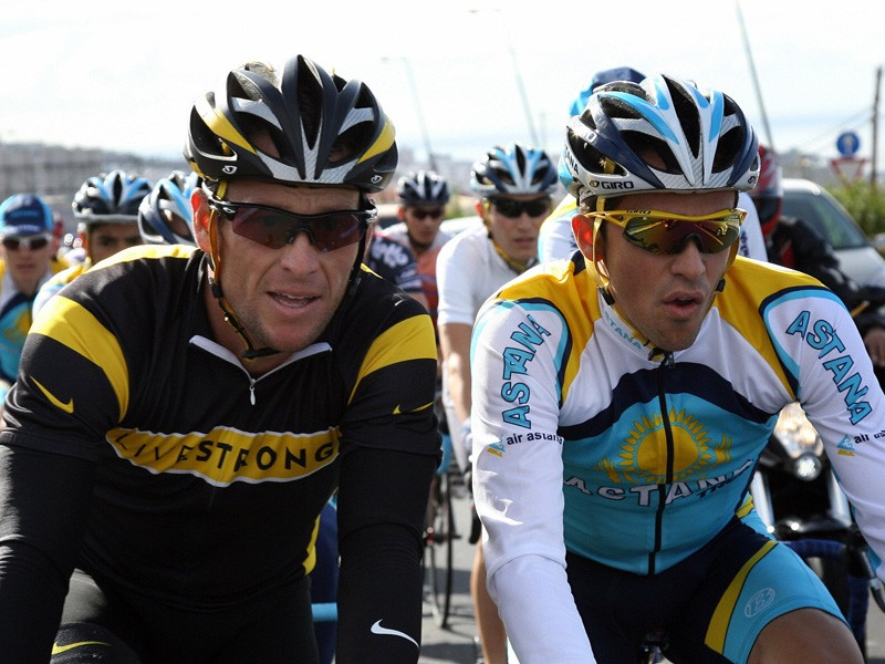 Lance Armstrong and Alberto Contador will race side by side at the Vuelta a Castilla y Leon