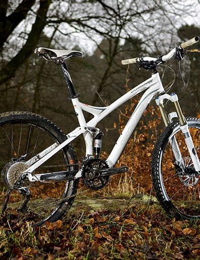 A great looking, great riding but otherwise unobtrusive trail companion.