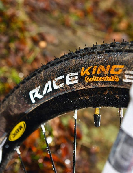 The tiny tread RKs were far more predictable than we expected, even in the worst mud, green rock and wet root conditions.