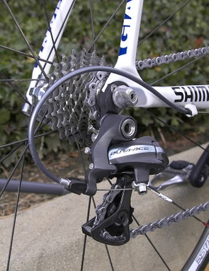 Shimano have stuck with a 10-speed cassette for their latest flagship group