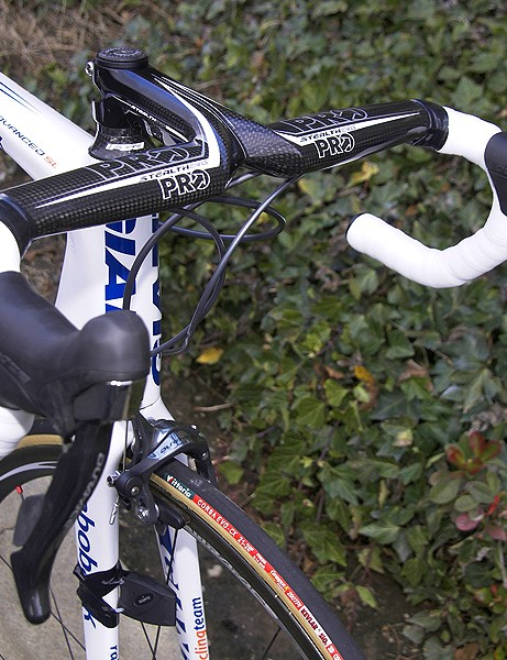 Gesink favours PRO's Stealth Evo integrated bar and stem