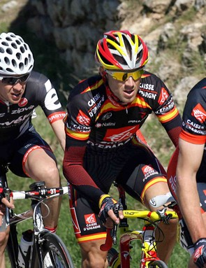 Spain's Alejandro Valverde (Caisse d'Epargne - C) won the third stage of the Tour of Castilla y León on Wednesday.