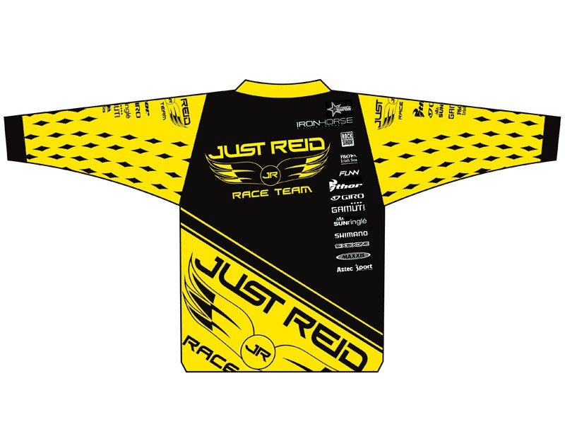 Just Reid will be hard to miss in their yellow jerseys
