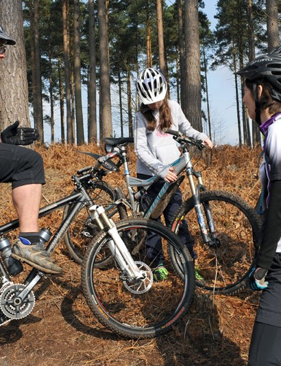 Gorrick are now offering mountain bike coaching sessions in Swinley Forest