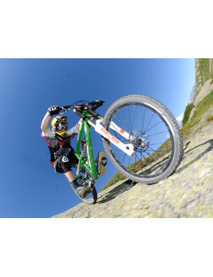 Nico Vouilloz has helped Lapierre develop its new bikes