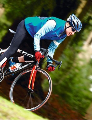 The handling of the Wilier proved to be impeccable and ideal for any fast riding
