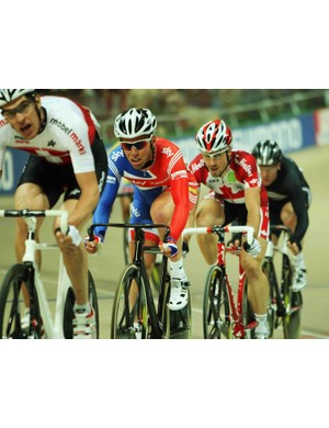 Britain's Mark Cavendish has another shot at Track World's gold Saturday.