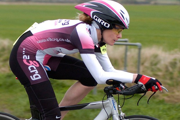 Sarah Storey won the women's category in the first round of the Rudy Project series