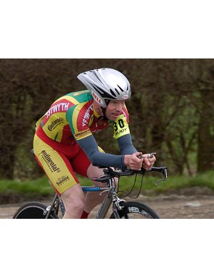 Daniel Thorogood finished just behind Ian Dalton to take second in the vets category