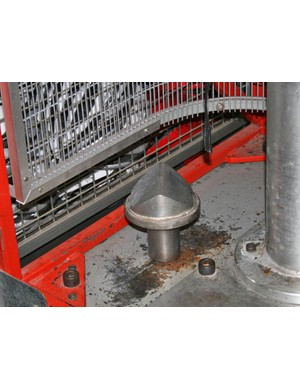 The kerb anvil