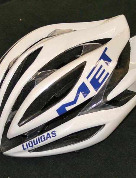 Liquigas team helmet