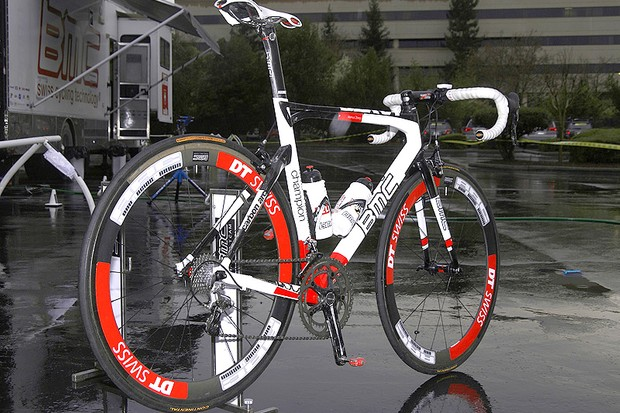 BMC takes an unconventional approach for Markus Zberg's Racemaster SLX01.