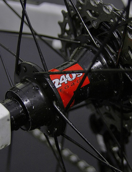 DT Swiss does, however, make the 240s front and rear hubs.