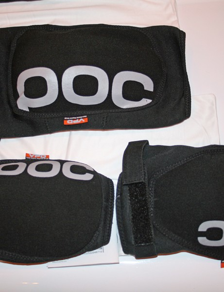 POC's Joint VPD Elbow pads are made from a soft material that hardens under impact, similar to the D30 used in SixSixOne's high-end pads