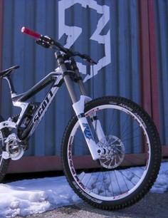 The Scott11 team will ride the Gambler downhill bike