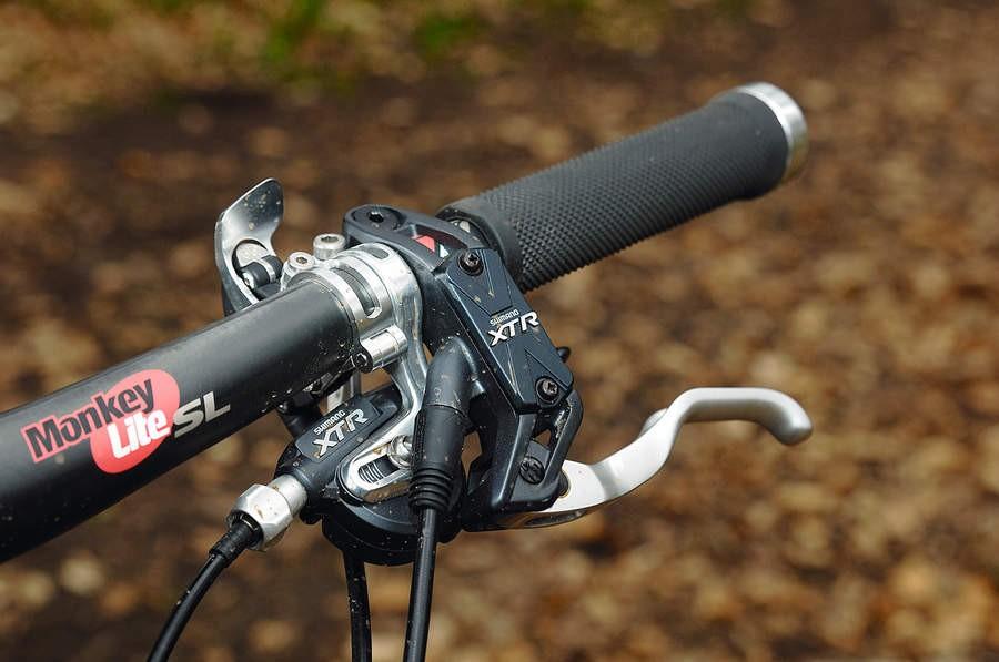 The XTR controls offer perfect ergonomics