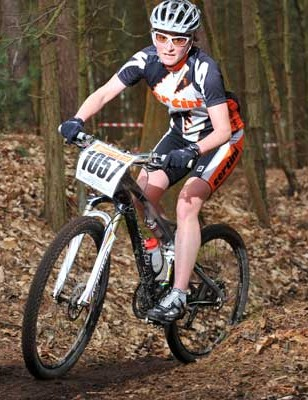 Maddie Horton won the expert women's race