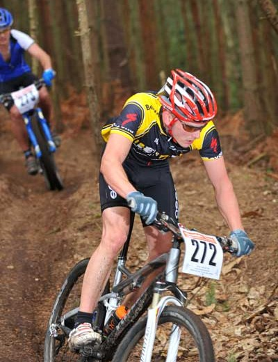 Martin Delves was victorious in the men's sport race