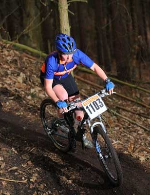 Natasha Litherland came third in the open women's race and won a holiday