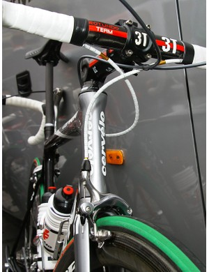 Nokon brake cable housing compresses less than standard brake housing for a crisper lever feel.