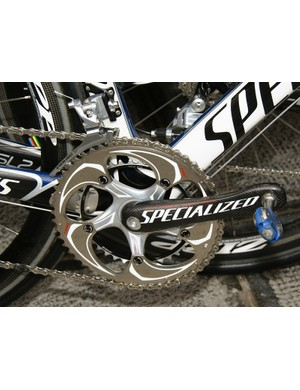 The integrated Specialized S-Works cranks have carried through from the early season…