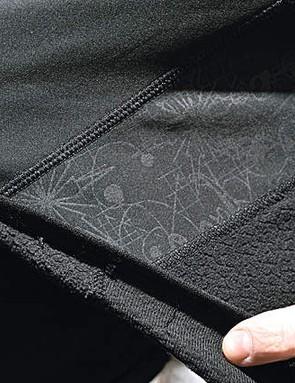 The three-ply laminated fabric lets the body breathe