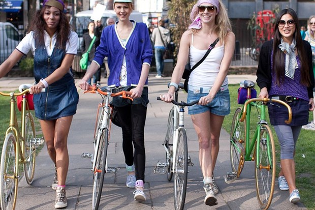 Topshop launches range of cycle accessories for girls