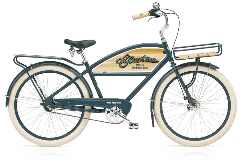 The 2009 Electra Delivery 3i urban cruiser.