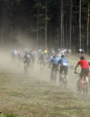 British Mountain Bike Series round one, Sherwood Pines